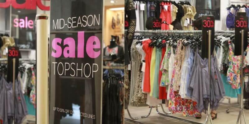 marketing para tiendas de ropa, descuentos