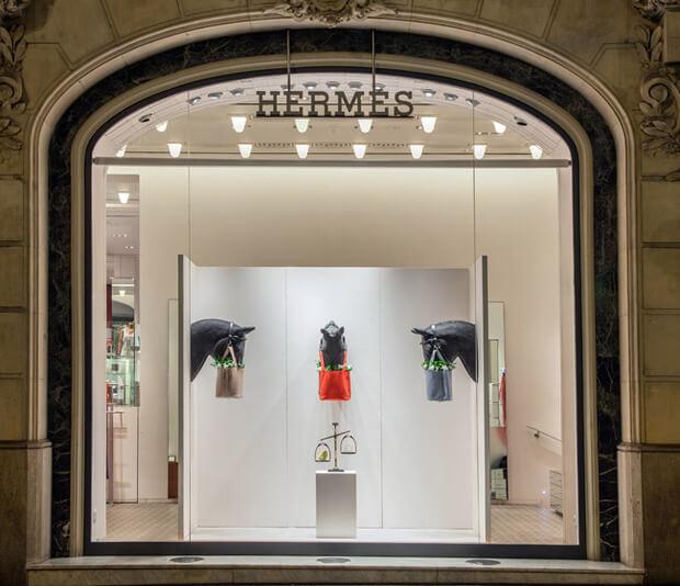 tiendas de ropa de lujo