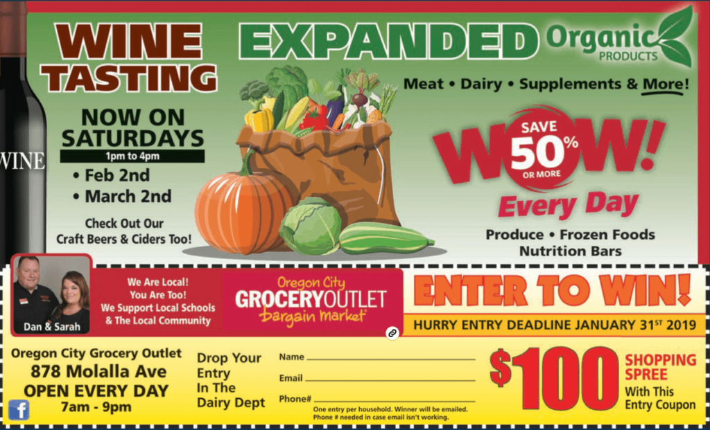 local magazine advertising sweepstakes ad
