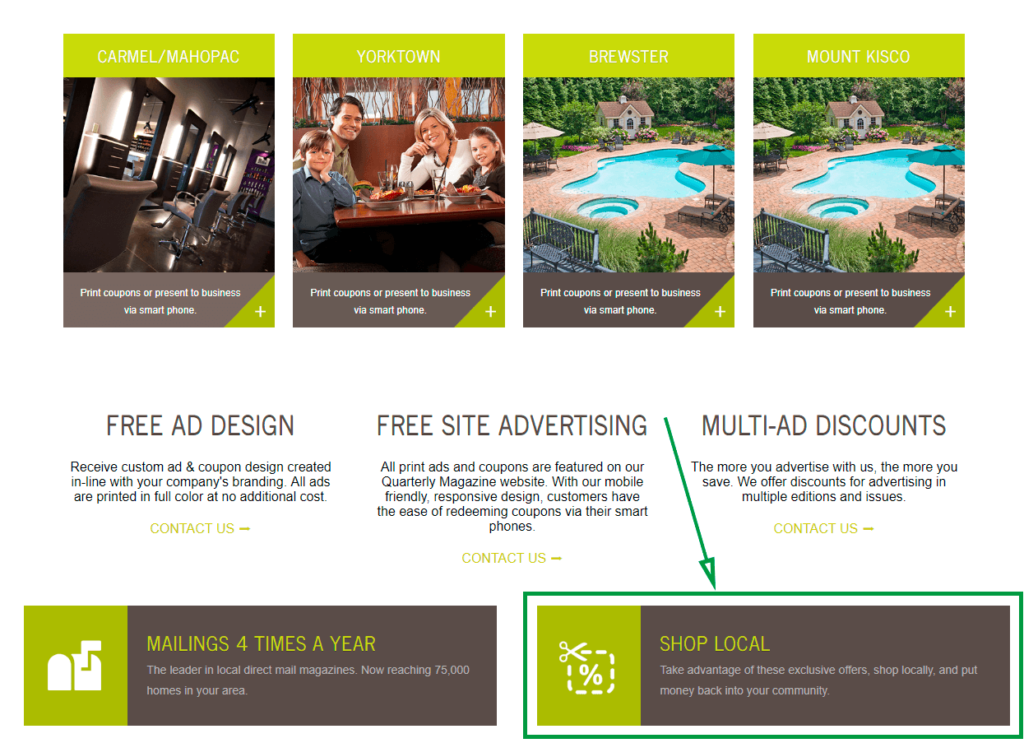local magazine advertising quarterly magazine homepage