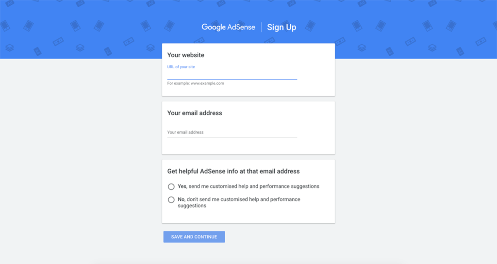3-what-is-google-adsense-sign-up-screen