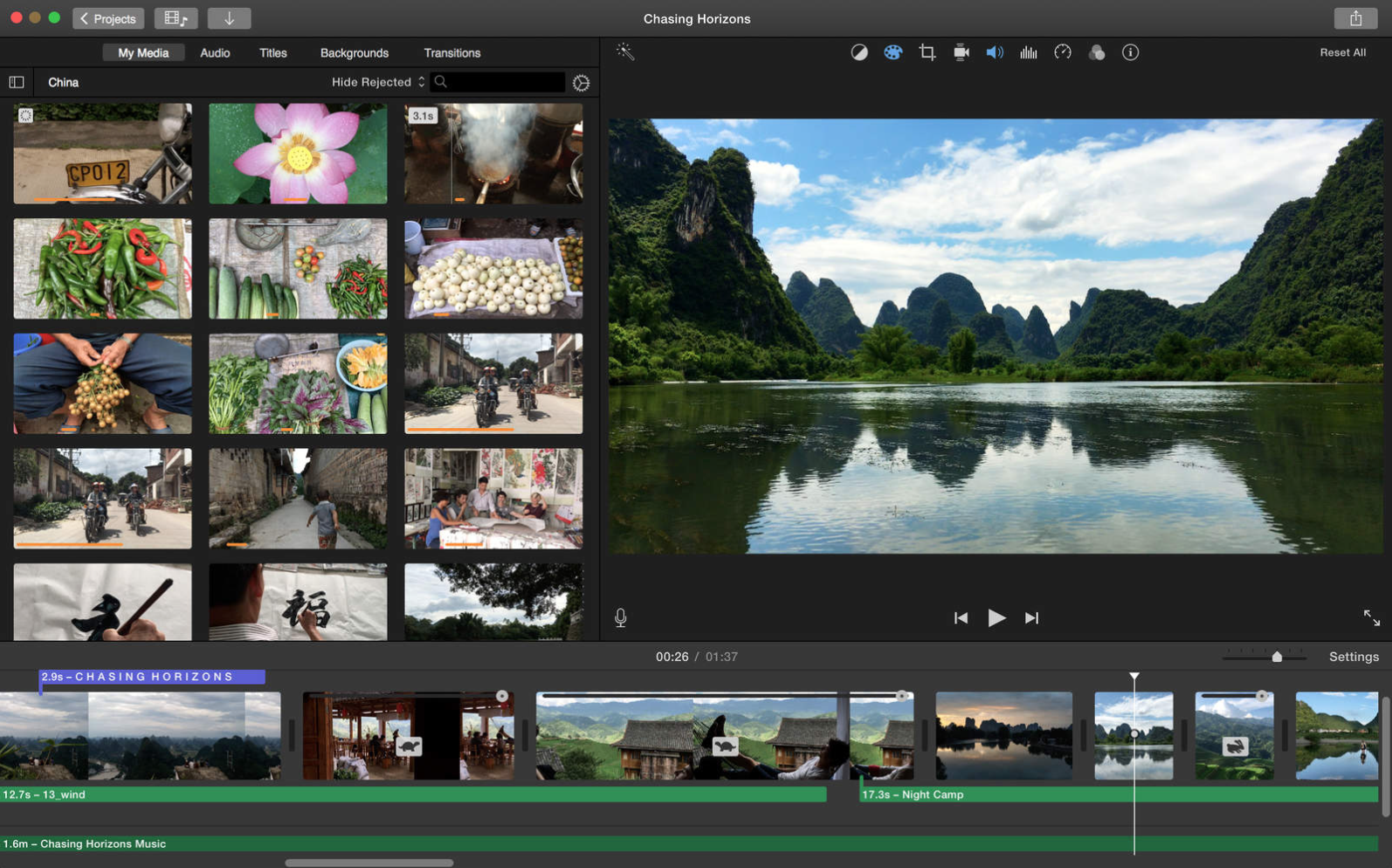 How to make a promotional video. iMovie example.