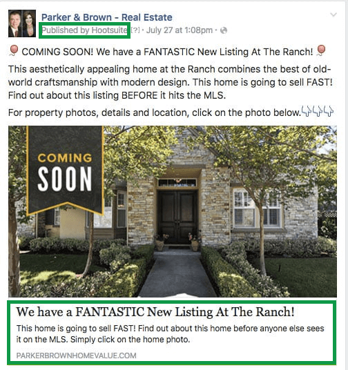 How to get clients in real estate. Facebook Real Estate Ad Call To Action.