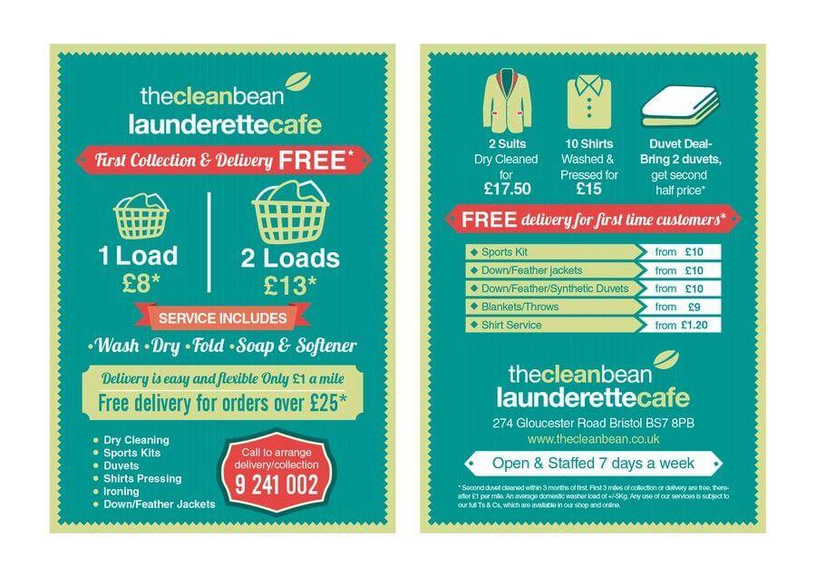 Marketing para lavanderías. Ejemplo de The clean bean.
