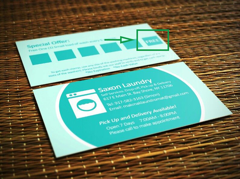 Marketing strategies for laundries. Special offer BC.