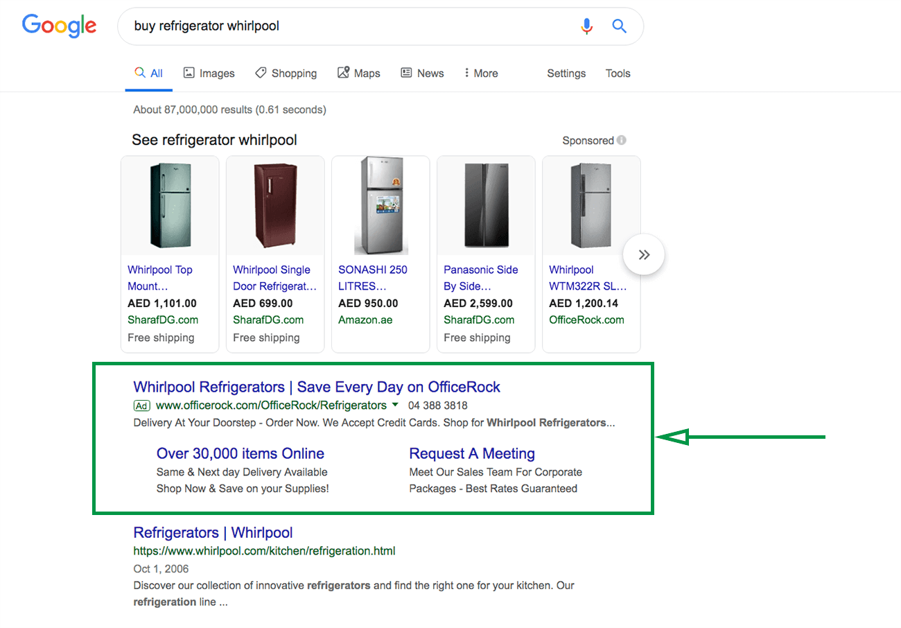 How to write a marketing plan. Google ads example.