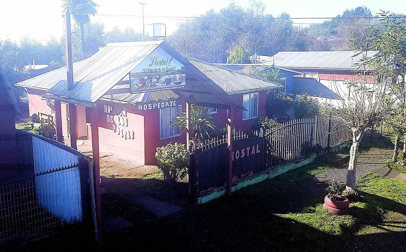 Hostal Rincon de los Poetas. Entrada principal.