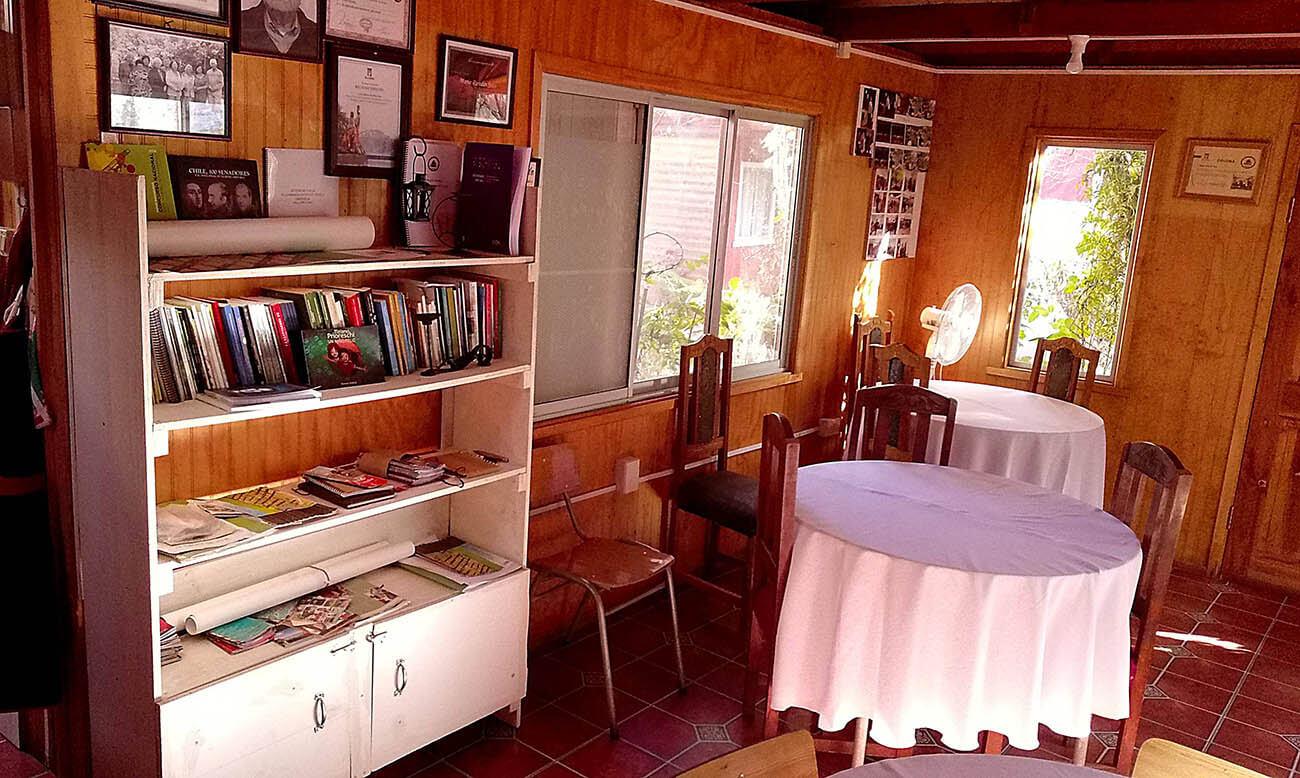 Hostal Rincon de los Poetas. Cafetería.