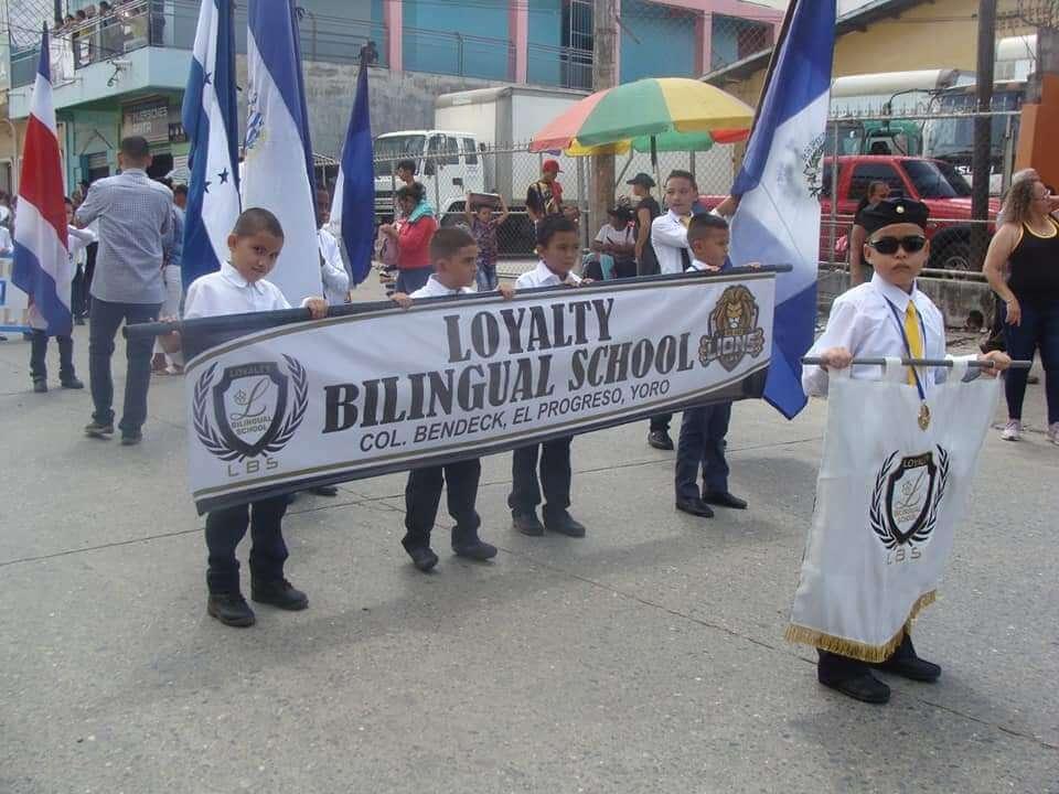 Loyalty Bilingual School. Evento escolar.