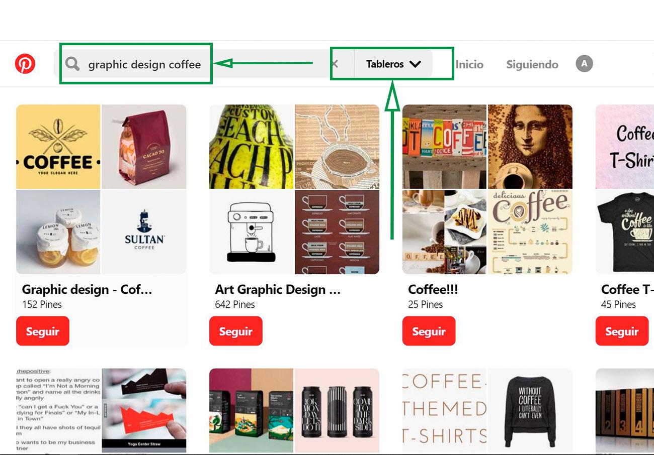 Estratégias para Designers Gráficos. Quadros de interesse