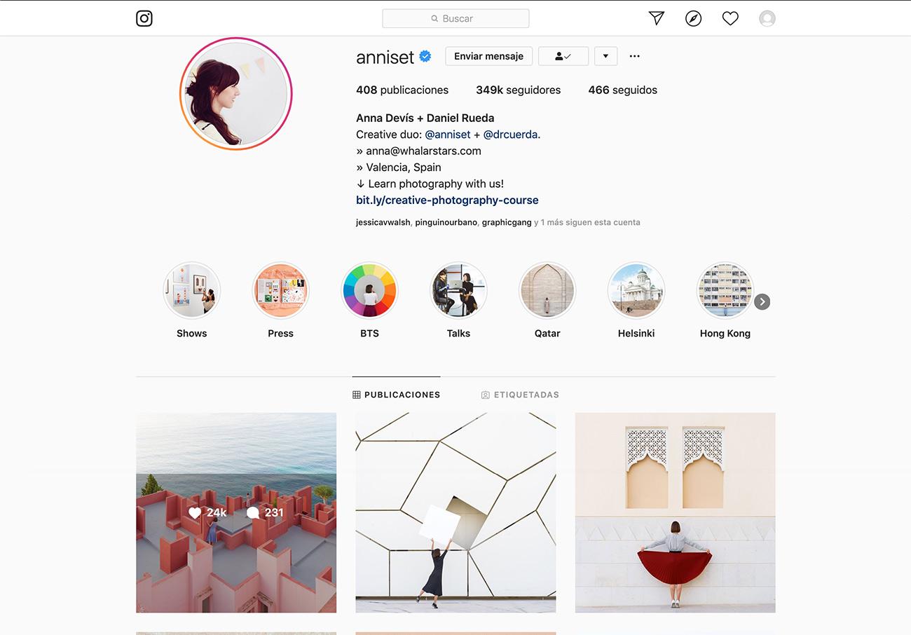 Estratégias para designers gráficos. Instagram profile