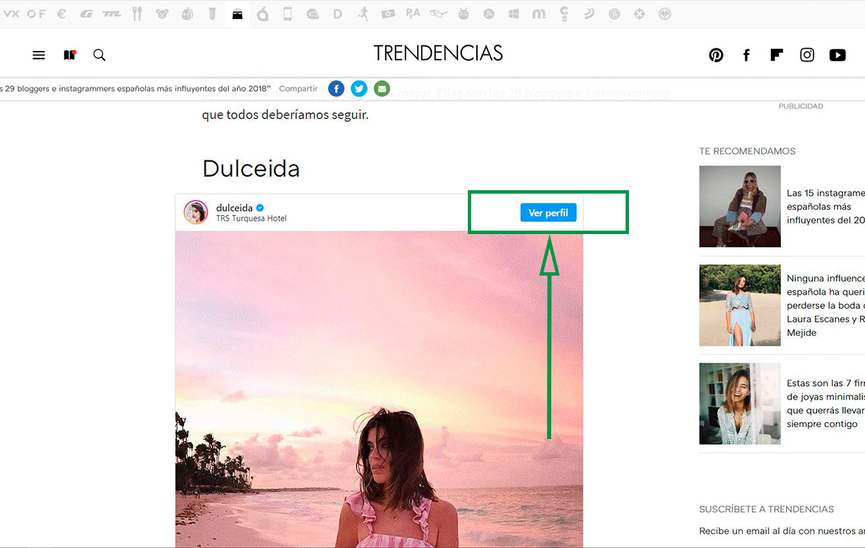 Cómo crear un Blog en Blogger. Blog con enlace a Instagram