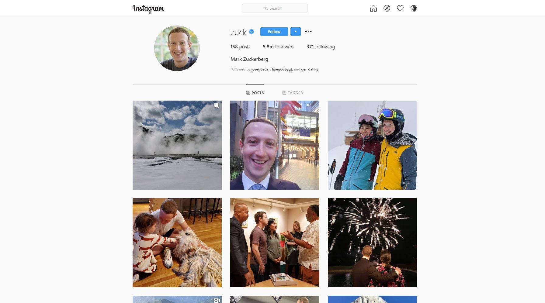 Qué es el Networking: 5 formas de usarlo como empresa. Perfil de Instagram