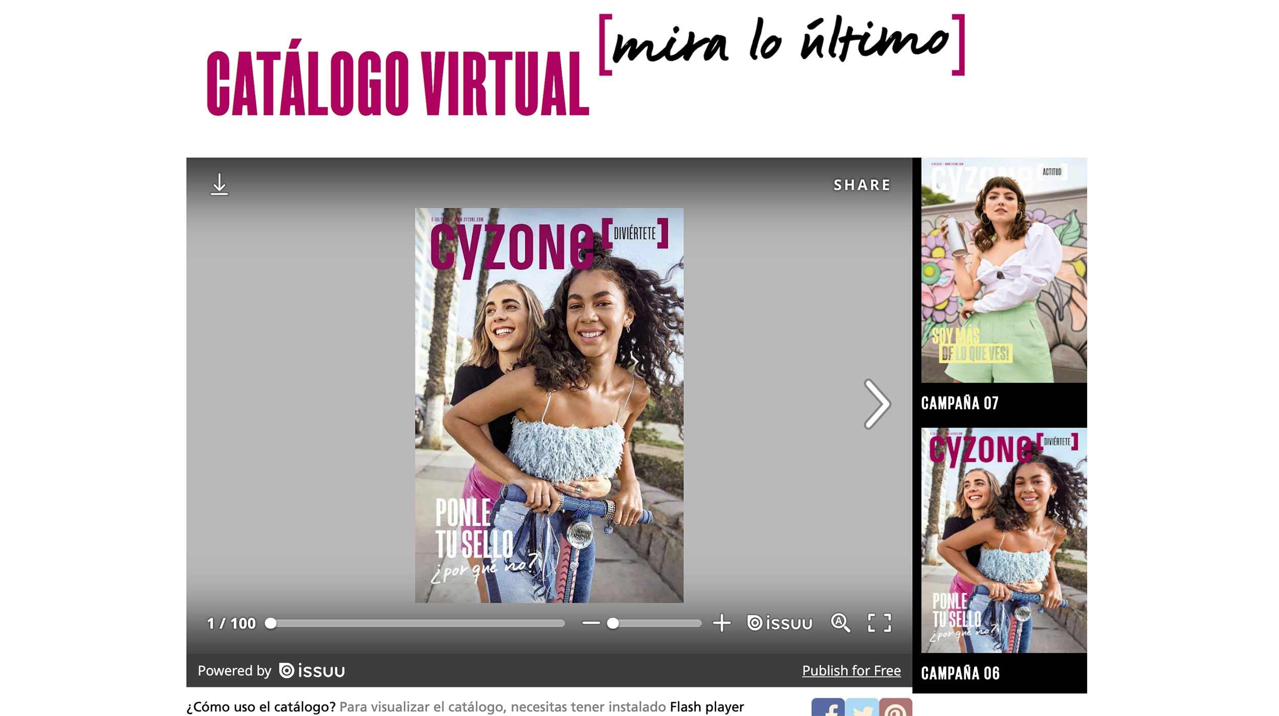 Posicionamiento de marca. Catálogo virtual