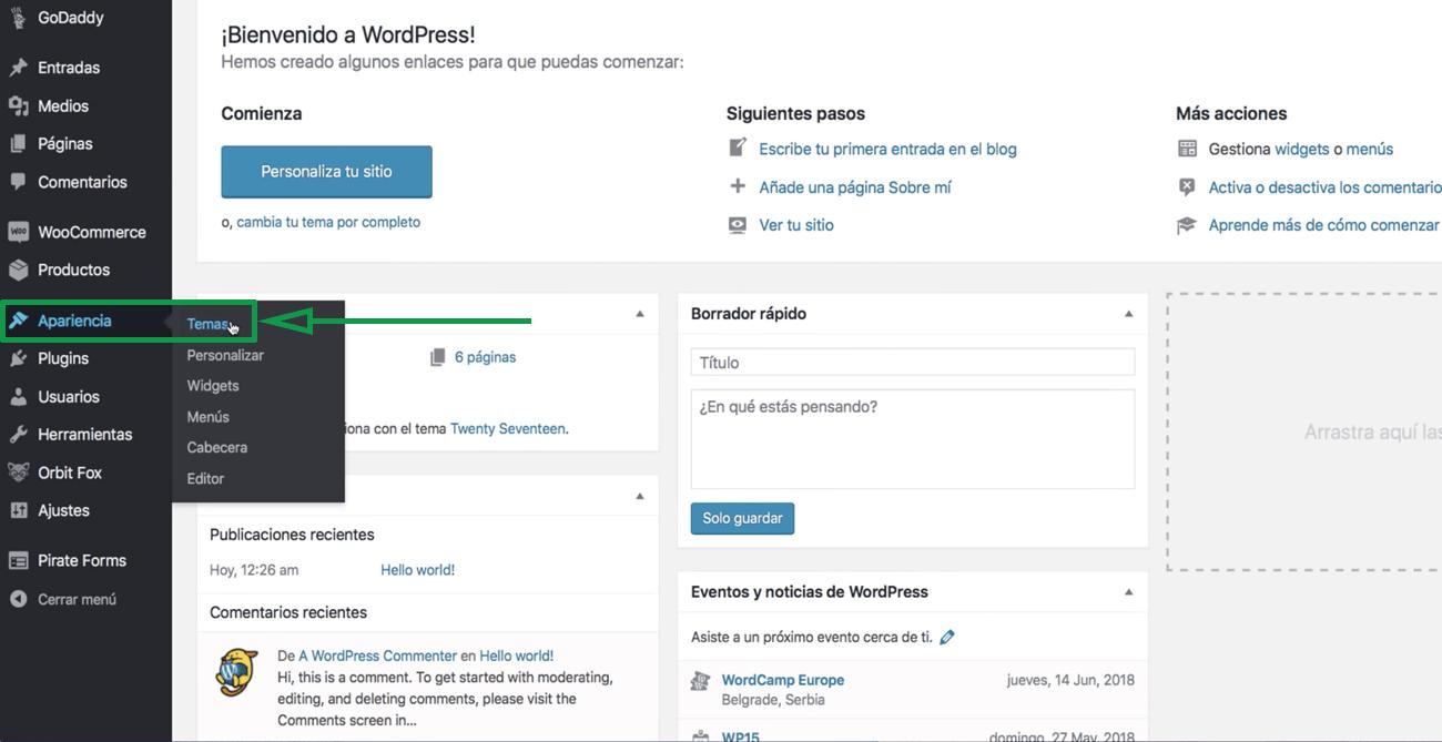 Cómo usar WordPress para crear una página web