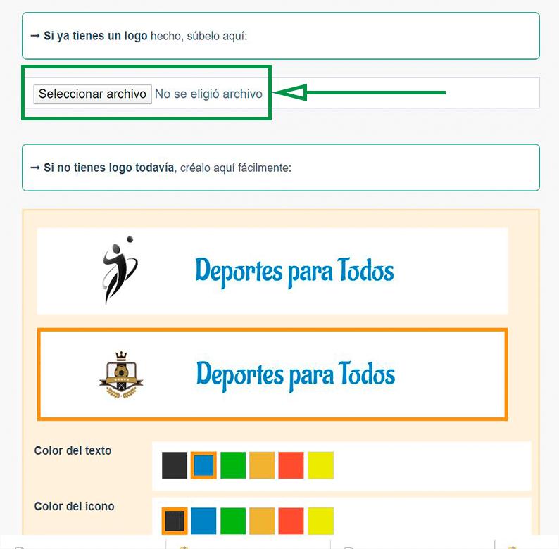 Cómo elegir un nombre de dominio para tu web. Añadir logo de empresa