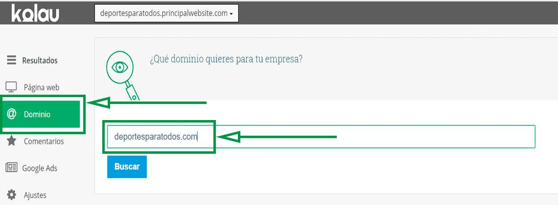 Cómo elegir un nombre de dominio para tu web. Buscar dominio propio