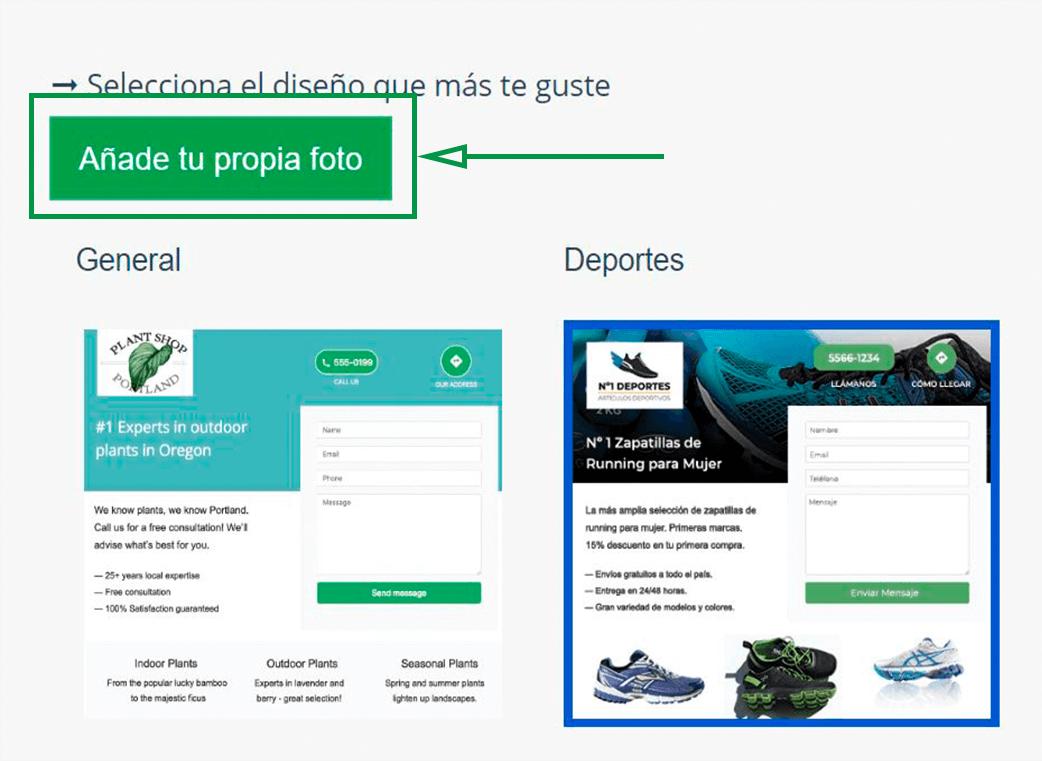 Cómo elegir un nombre de dominio para tu web. Añadir foto de cabecera
