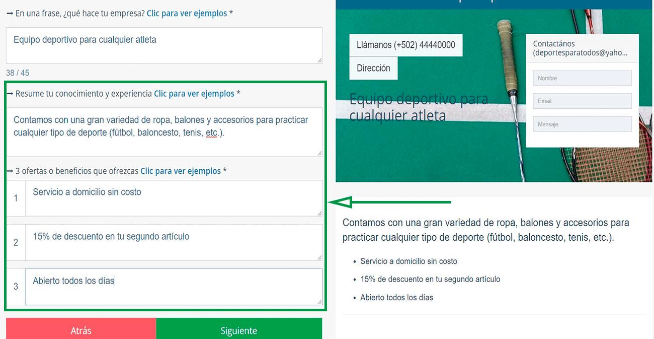 Cómo elegir un nombre de dominio para tu web. Descripción de la empresa y beneficios