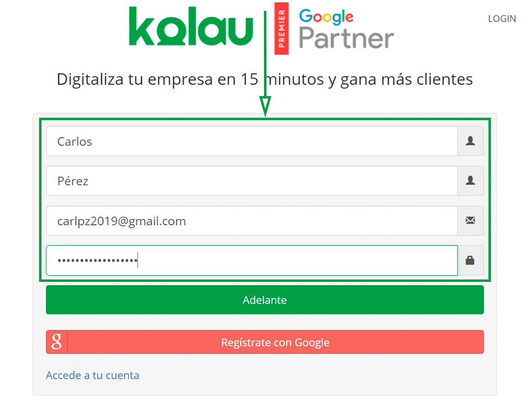 Cómo elegir un nombre de dominio para tu web. Abrir una cuenta Kolau.
